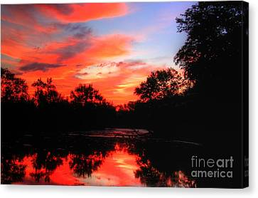 What A Morning 2 Canvas Print by Robert Pearson
