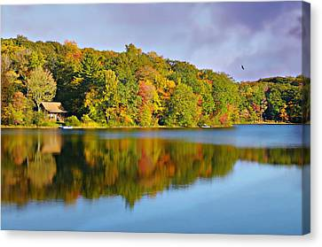 Litchfield County Canvas Print - What I Live For by Diana Angstadt