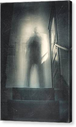 Ghost Canvas Print - What Is The Question by Scott Norris