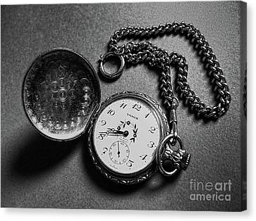 What Is The Time? Canvas Print by Jasna Dragun