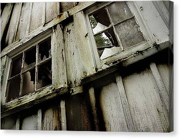 Canvas Print featuring the photograph What Lies Within by Mike Eingle