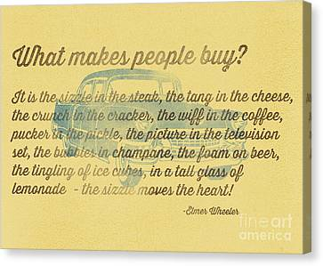 What Makes People Buy Canvas Print