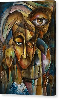 What Canvas Print by Michael Lang