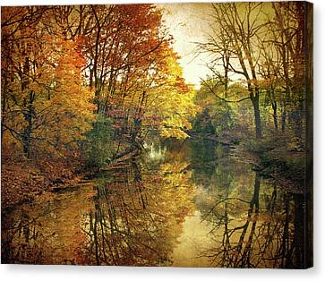 Canvas Print featuring the photograph What Remains by Jessica Jenney