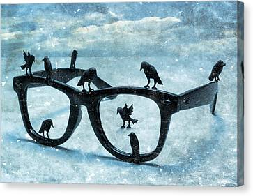 What The Crows Found Canvas Print by Jeff  Gettis