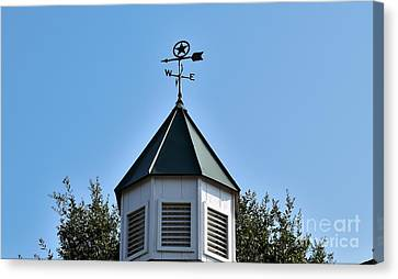 Canvas Print featuring the photograph Whatever Direction You Take - Reach For The Sky by Ray Shrewsberry