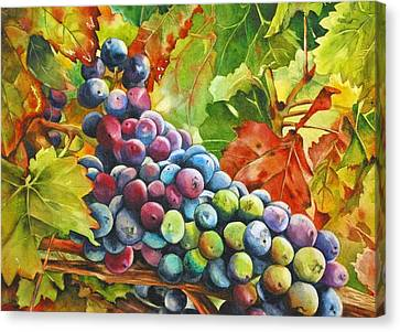 What's Your Grape Canvas Print