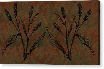 Wheat Field Canvas Print by Evelyn Patrick