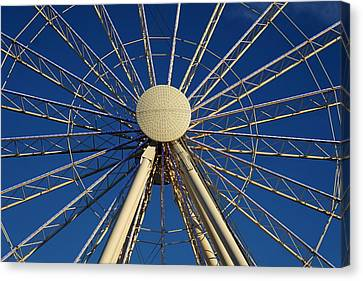 Wheel In The Sky Canvas Print by Laurie Perry