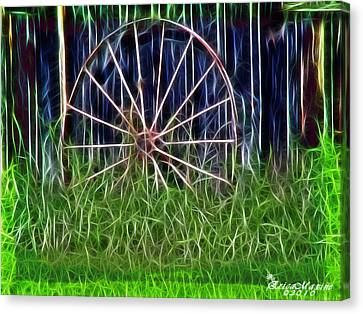 Wheel Of Fortune Canvas Print by EricaMaxine  Price