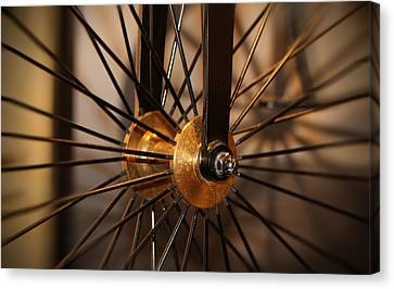 Wheel Spokes  Canvas Print