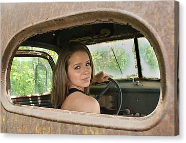 Wheelin Canvas Print by Off The Beaten Path Photography - Andrew Alexander