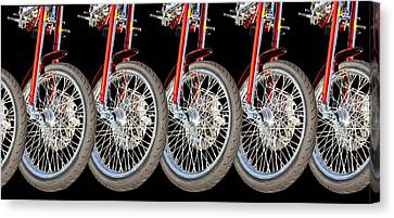 Wheels Canvas Print by Jim  Hatch