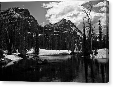 Whelp Lake, Mission Mountains Canvas Print