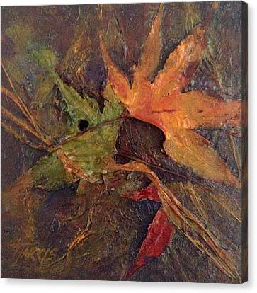 Canvas Print featuring the painting When Autumn Comes... by Helen Harris