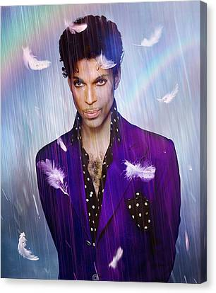 When Doves Cry Canvas Print by Mal Bray