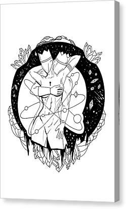 Canvas Print - When Gods Embrace by Kenal Louis