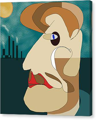 When I Was Younger  Canvas Print by Denny Casto