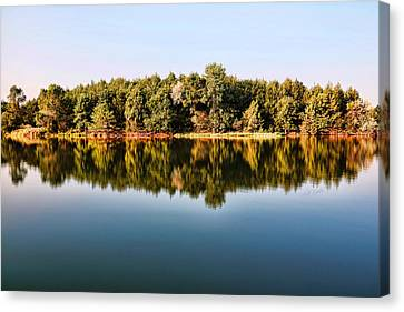 When Nature Reflects Canvas Print