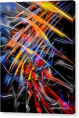 Canvas Print featuring the digital art When Prayer And Worship Embrace by Margie Chapman