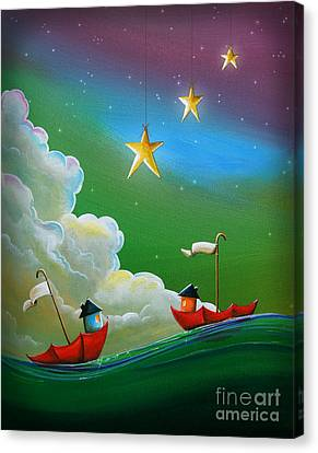 When Stars Align Canvas Print by Cindy Thornton