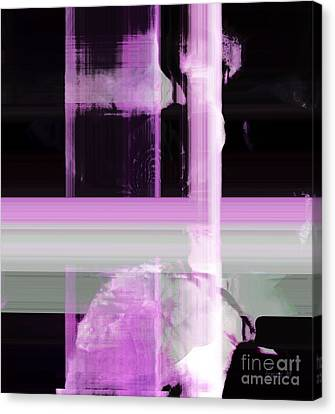 When The Light Goes Purple  Canvas Print by Fania Simon
