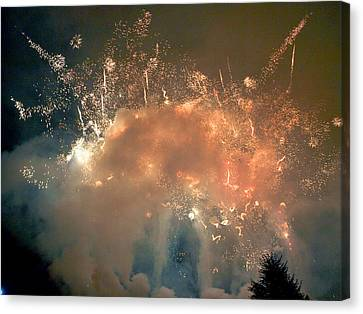 Ridgewood Canvas Print - When The Smoke Clears by Jim DeLillo