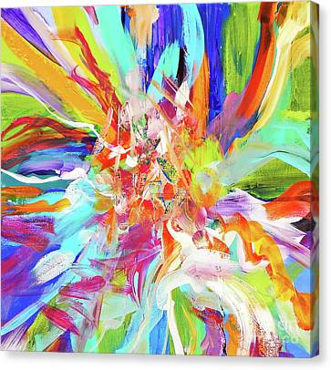 To Dominate Canvas Print - When They Dance ... by Expressionistart studio Priscilla Batzell