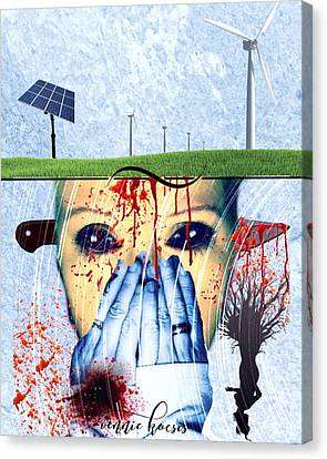 When They Take The Mind Canvas Print