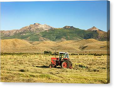 When Tractors Were Good Canvas Print