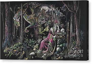 When Wizards Dream Canvas Print by Stanley Morrison