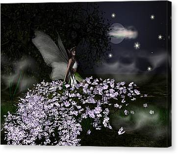 When You Wish Upon A Star Canvas Print by Eva Thomas
