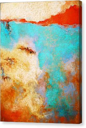 Where Am I Two Canvas Print by M Diane Bonaparte