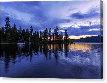 Where Are The Ducks? Canvas Print by Chad Dutson