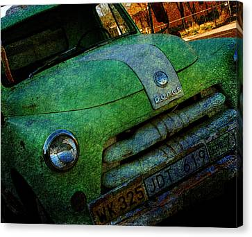 Where Are The Good Old Days Gone Canvas Print by Susanne Van Hulst