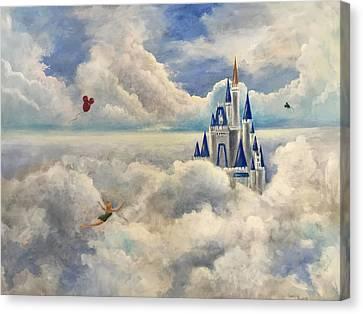 Where Dreams Come True Canvas Print by Randol Burns
