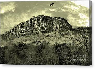 Where Eagle Dare-ii Canvas Print