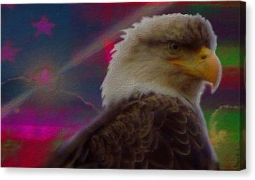 Stars Canvas Print - Where Eagles by Ryan Reschke