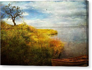 Canvas Print featuring the photograph Where I Came To Rest... by John Rivera