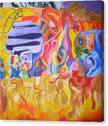 Where Canvas Print by Joseph  Arico