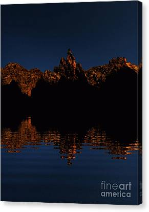 Where The Eagles Fly Canvas Print