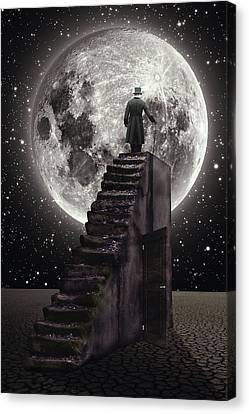 Where The Moon Rise Canvas Print