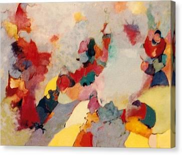 Where There Is Smoke Canvas Print by Bernard Goodman