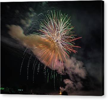 Canvas Print featuring the photograph Where There's Smoke by Bill Pevlor