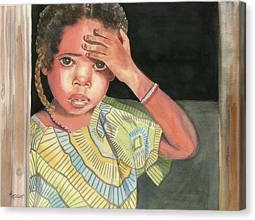 Where's Mama Canvas Print by Marsha Elliott
