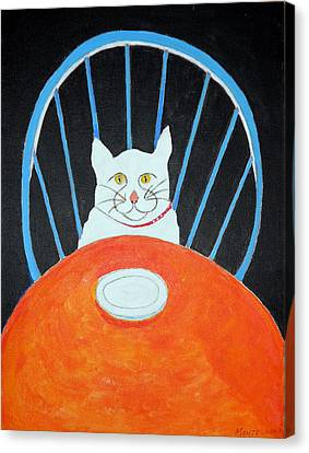 Where's My Dinner? Canvas Print by Robert Anthony Montesino