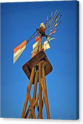 Which Way The Wind Blows Canvas Print by Glenn McCarthy Art and Photography