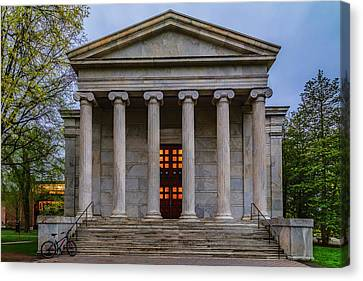 Canvas Print featuring the photograph Whig Hall Princeton University by Susan Candelario
