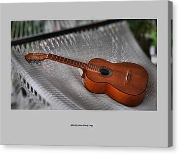 While My Guitar Gently Sleeps Canvas Print by Jim Walls PhotoArtist