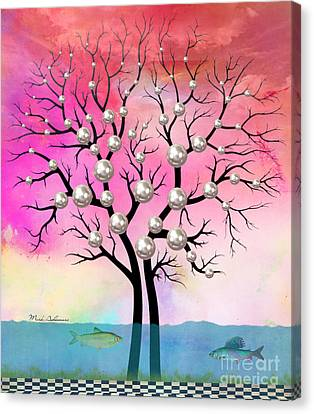 Plowing Canvas Print - Whimsical by Mark Ashkenazi